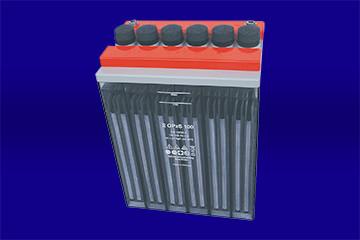 OPzS-DIN-Blockbatterie