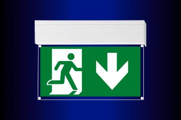 Rettungszeichenleuchten S88 (Fluchtweg frei)