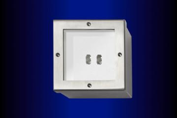 Sicherheitsleuchten GA41-a (asymmetrisch) Edelstahlgehäuse