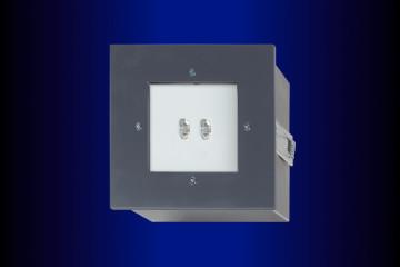 Sicherheitsleuchten GE41-a (asymmetrisch) Edelstahlgehäuse